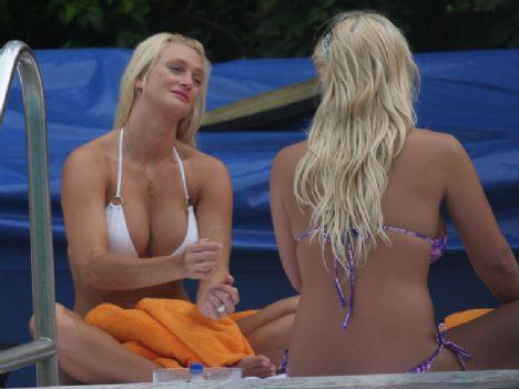 Brooke Hogan'ın havuz sefası - 29